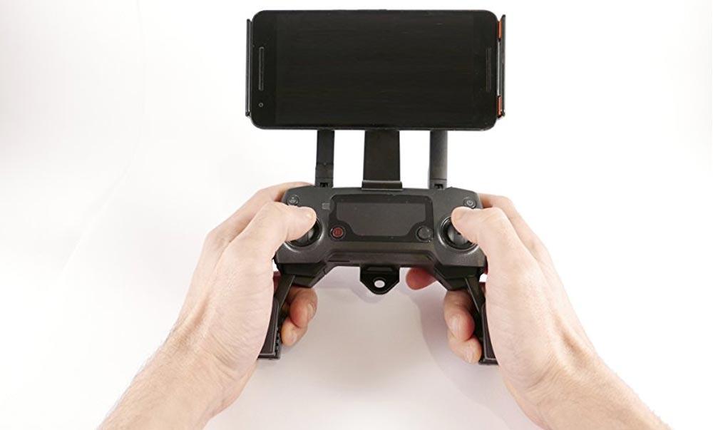 Suport smartphone / tableta pentru controller drone DJI