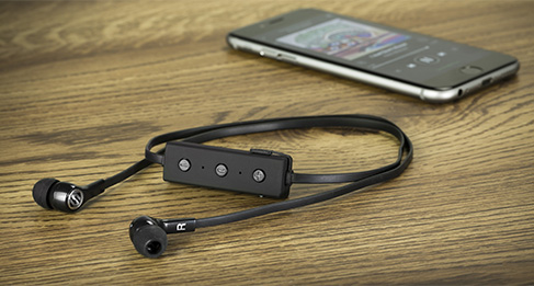 Casti audio in-ear Scosche  BT100 Bluetooth cu microfon