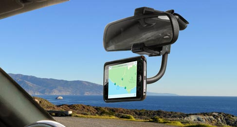 Suport auto magnetic MagicMount™ Rear View