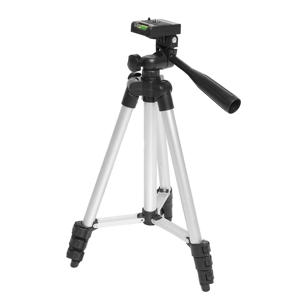 Trepied telescopic universal 35cm - 102cm, max 2,5 kg (Negru)