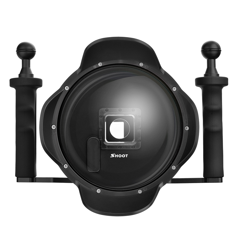 Dome pentru filmari subacvatice cu stabilizator pentru Hero 4 /3 si 3+ (Negru)