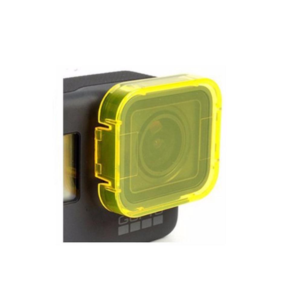 Filtru colorat pentru filmari subacvatice compatibil GoPro Hero 5 / 6 / 7 (Rosu)