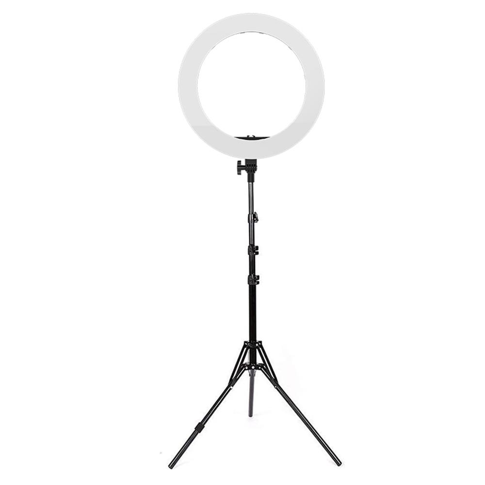 "Kit Lampa Circulara 18"" dimabila, cu lumina continua, 512 lumini LED, 55W cu trepied si accesorii"