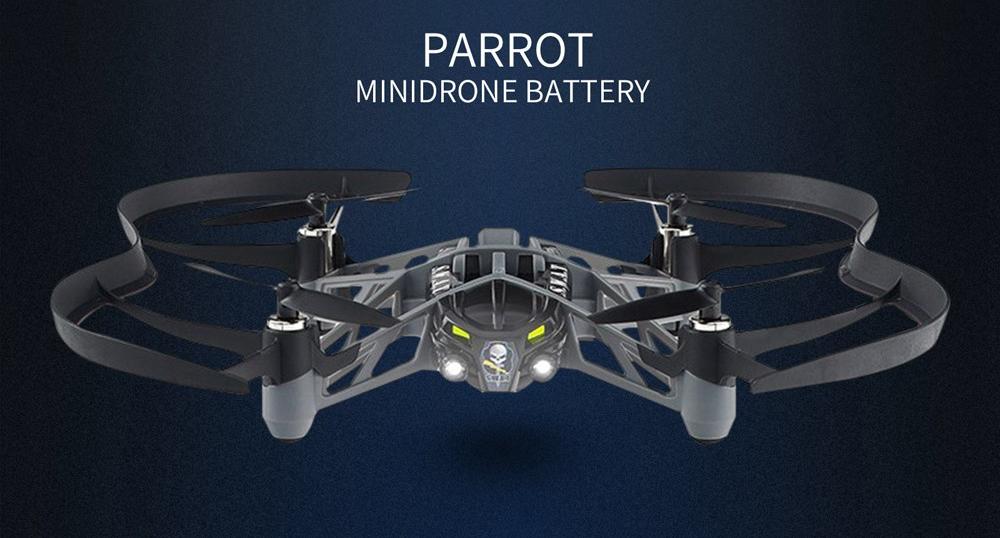 Incarcator triplu + trei acumulatori pentru minidrone Parrot, 600 mAh