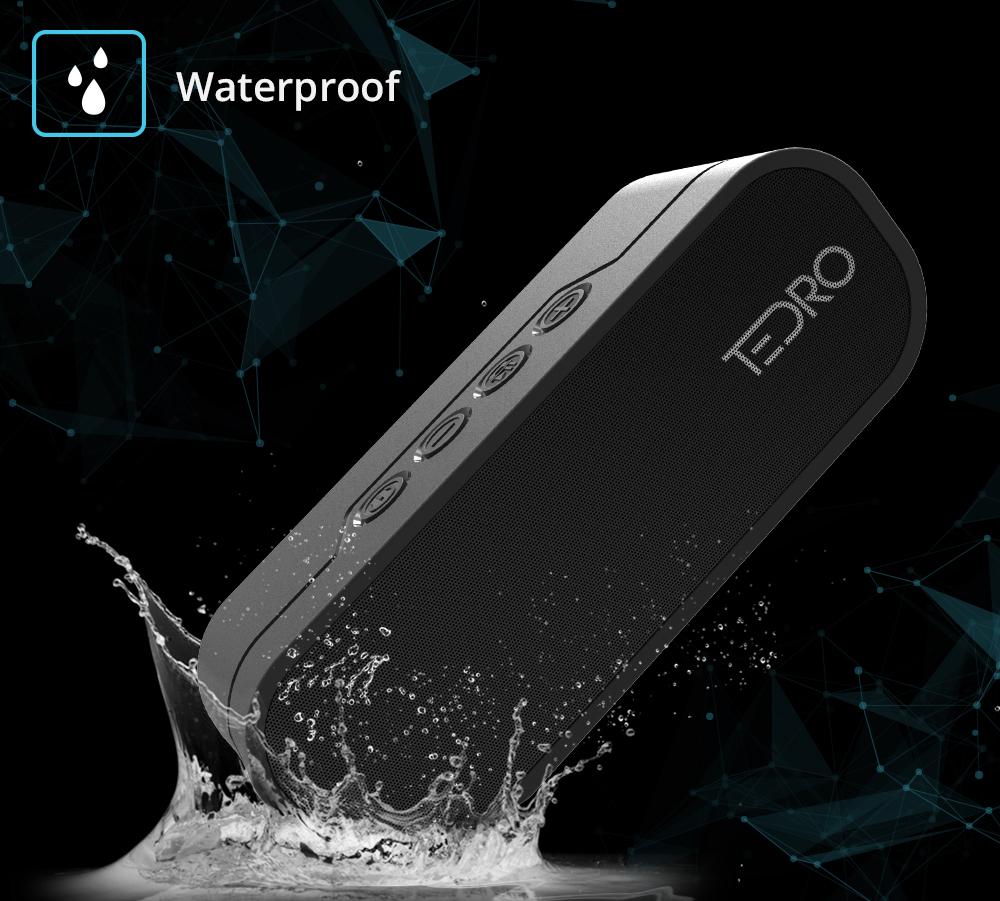 Boxa portabila TEDRO, rezistenta la apa si cu functie powerbank - 20W