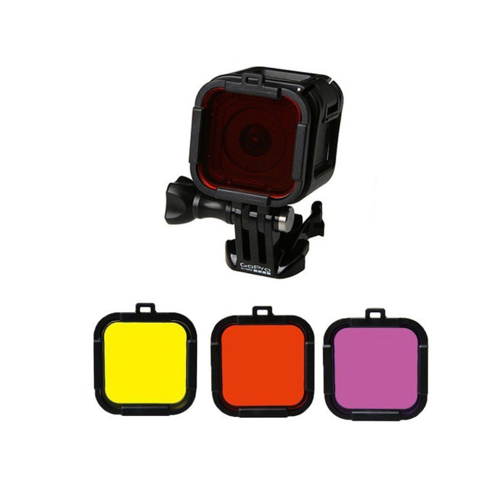 Kit filtre colorate pentru GoPro Hero Session 4/5