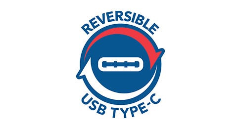 Cablu StrikeLine USB-C la Lightning reversibil