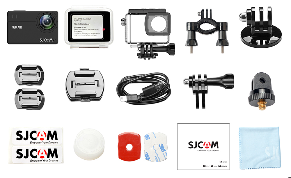 Camera video sport SJCAM SJ8 Air Full Pack
