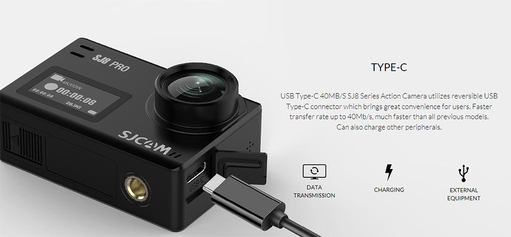 Camera video sport SJCAM SJ8 Plus Full Pack