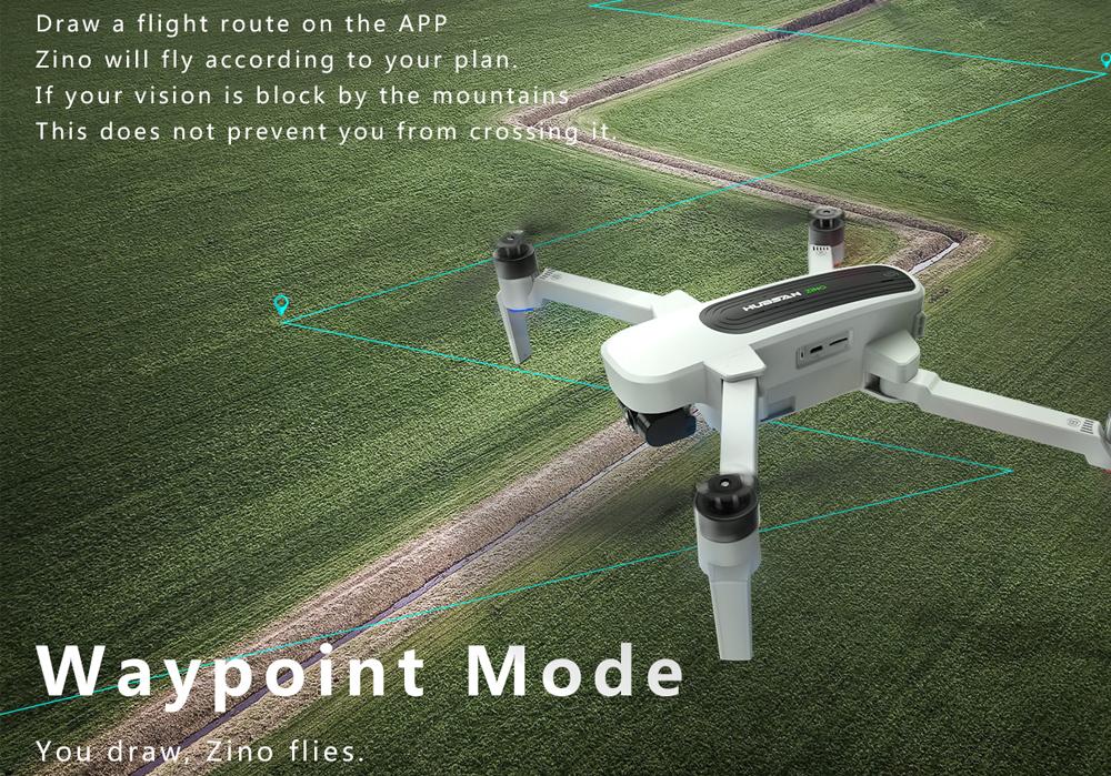 Drona Hubsan Zino pliabila cu rezolutie 4K si gimbal stabilizare