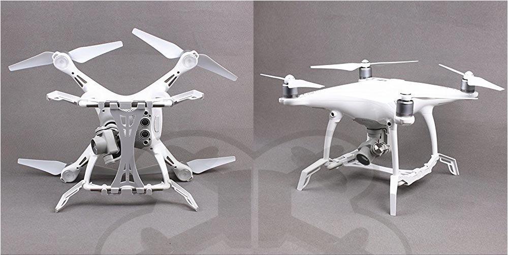 Landing gear si placa de protectie gimbal pentru DJI phantom 4
