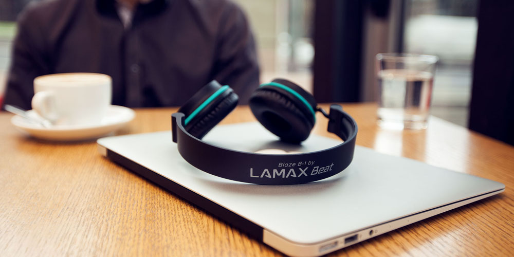 Casti on-ear Lamax Beat Blaze B-1