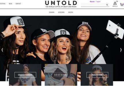 Magazin online UNTOLD Festival a fost lansat cu succes!