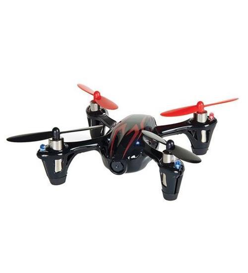 Drona HUBSAN x4 H107C CAM PLUS QUAD-COPTER  (Negru / Rosu)