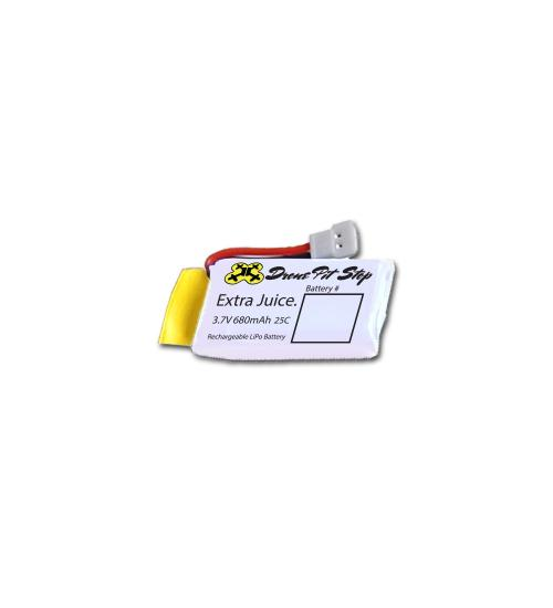 Acumulator pentru Syma - X5C X5SW X5SC X5A X5 - 3.7V 680mAh (Alb)