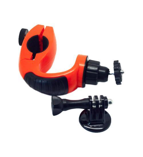 Sistem de prindere pentru bicicleta Widjit cu adaptor de trepied si surub (Portocaliu)