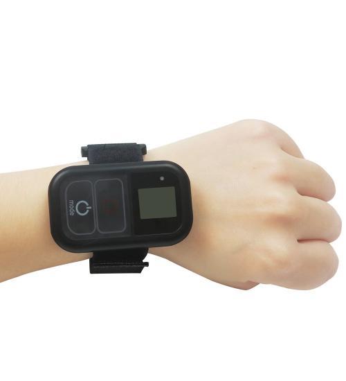 Telecomanda wireless rezistenta la apa pentru GoPro Session, Fusion, Hero 3, 3+,4, 5, 6, 7 Black (Negru)