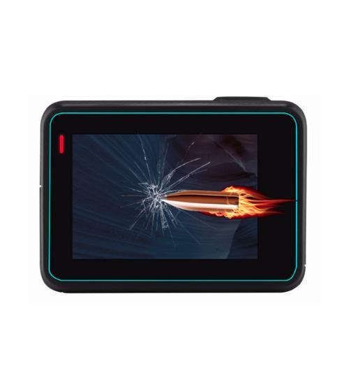 Folie protectie 2 in 1 pentru GoPro Hero 5 / 6 / 7 din sticla securizata