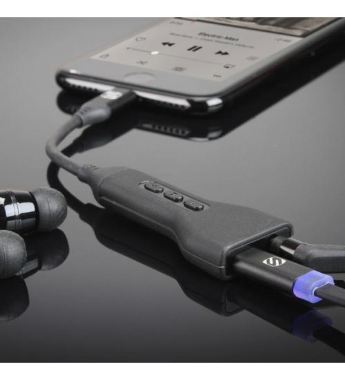 Adaptor casti pentru iPhone 7 / 8  (Negru)