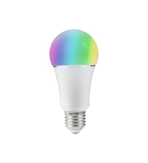 Bec inteligent LED, WiFi SMART RGBCW, Tuya Smart Life, 9W, 1000 lm - compatibil Alexa si Google Assistant