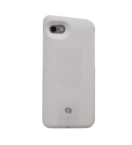 Lelight - carcasa cu led pentru selfie (Alb)