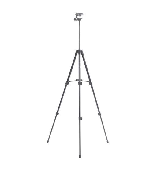 Trepied profesional 43cm - 125cm din aliaj de aluminiu (Negru)