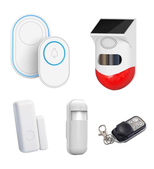 Bundle sonerie inteligenta, detector PIR, senzori si telecomanda