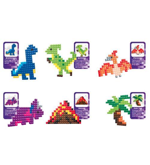 Pixelife seria Dinosaur - 800 de piese