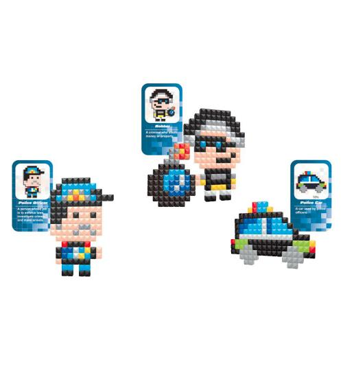 Pixelife seria Police - 500 de piese