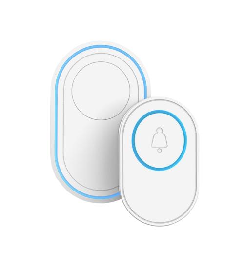 Sonerie inteligenta WiFi ce se poate conecta cu senzori sau alarma securitate, Tuya, Smart Life, Alexa