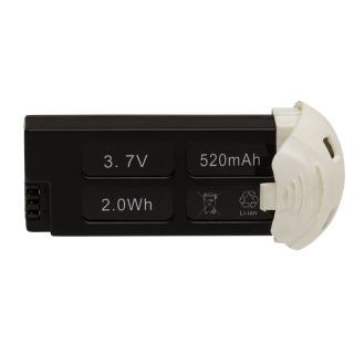 Acumulator pentru HUBSAN x4 H107D+, 3.7V, 520mAh