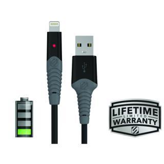 Cablu de incarcare si sincronizare mufa Lightning strikeLINE™ LED