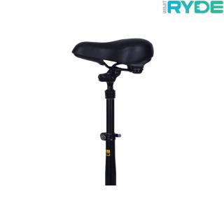 "Scaun Pliabil RYDE pentru trotinete electrice RYDE 500 dual - seria 10"" (Negru / Rosu)"