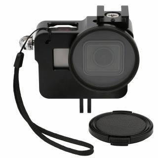 Rama de protectie din aluminiu cu filtru UV de 52mm pentru GoPro Hero 5 / 6 / 7