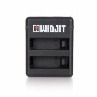 Incarcator dublu Widjit pentru baterii GoPro Hero 4