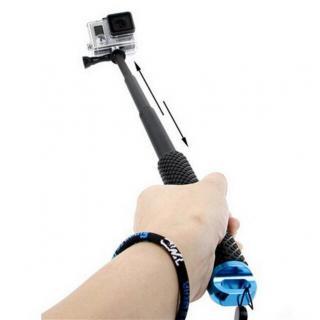 Monopod pentru camere video sport Widjit 30-90 CM cu adaptor
