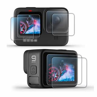 Folie protectie din sticla securizata compatibila cu GoPro Hero 9