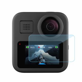 Doua seturi de folii protectie din sticla securizata compatibile cu GoPro Hero Max