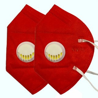 Pachet 2 masti de protectie KN95 / FFP2, 5 straturi, cu valva de expirare NB950