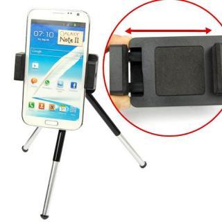 Kit mini trepied mobil, ajustabil pentru fixarea telefonului mobil