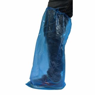 Acoperitoare incaltaminte unica folosinta din plastic, 5 perechi