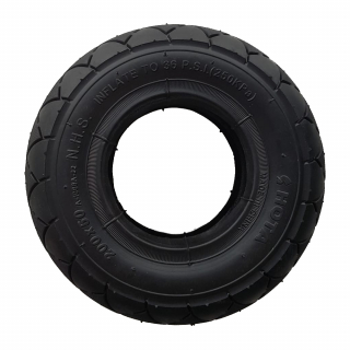 Pachet camera si anvelopa pentru roti de 8 inch