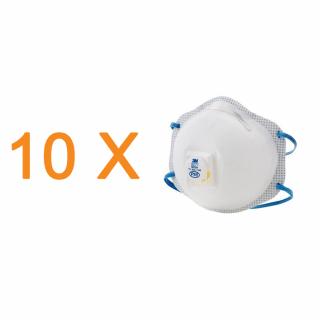 Pachet 10 masti de protectie respiratorie importriva particulelor 3M 8576 P95