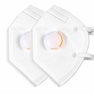 Set 2 bucati masca de protectie respiratorie cu valva FFP3 / KN99