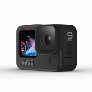Camera video sport GoPro Hero 9 Black, rezolutie 5K - 20MP