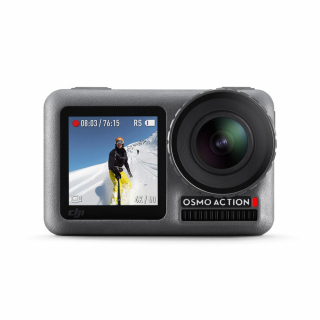 Camera video actiune DJI Osmo Action, 4K / 60 FPS, 12MP