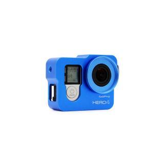 Carcasa de protectie din aluminiu cu filtru UV, GoPro Hero 4