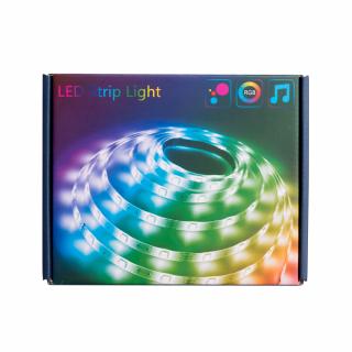 Banda LED SMART, compatibila Tuya, Smart Life, Google Assistant si Alexa -24V, 2 metri, 100 LED-uri