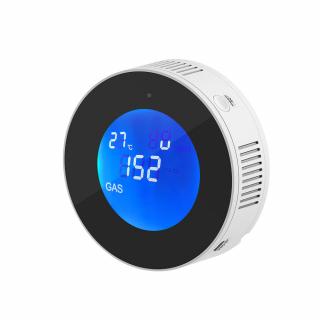Detector scurgeri de gaz WiFi, compatibil Tuya si Smartlife