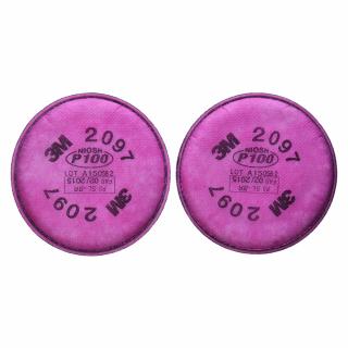 Pereche filtru 3M P100 de unica folosinta pentru masca 3M 6200